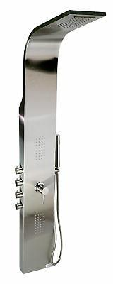ALFI ABSP30 Modern Stainless Steel Shower Panel with 2 Body