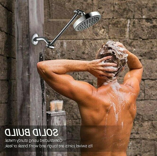 SparkPod Adjustable Shower Arm Head