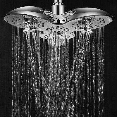 AquaSpa 9.5 inch Rainfall Shower
