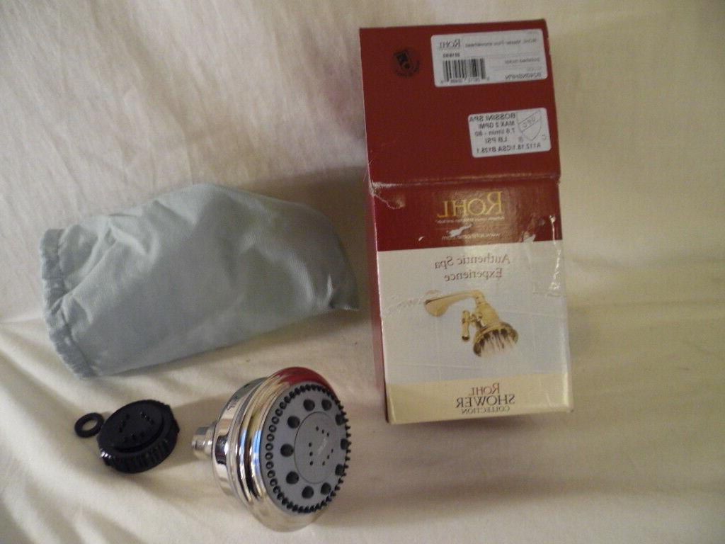 Rohl Authentic Bossini Spa Master Flow Shower Head B240NSHPN