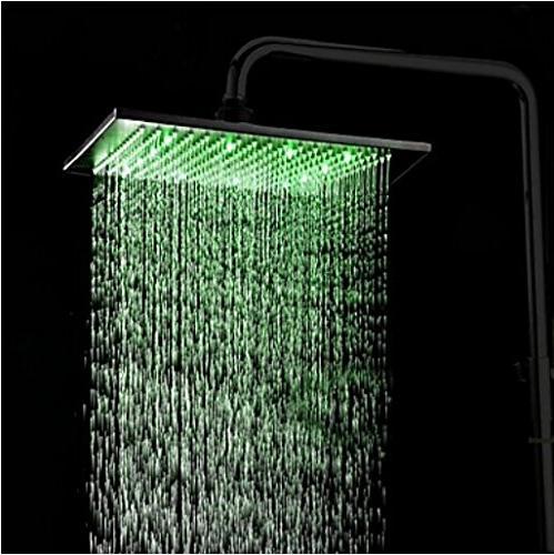 Rozin Shower LED Light Overhead Bronze