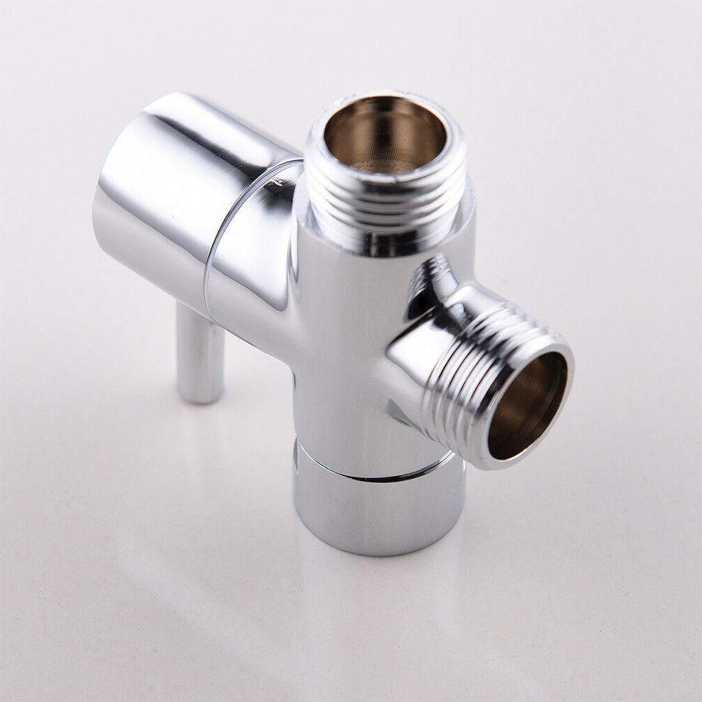 Brass Diverter for Shower Head Bath Outlet T Adapter