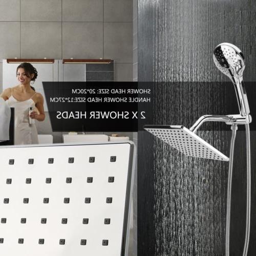 Brushed Nickel Handheld Shower Head | Premium
