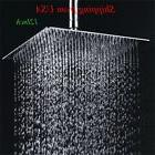 Chrome Shower Head 12 Inch Square Rain Shower Head Ultra Thi