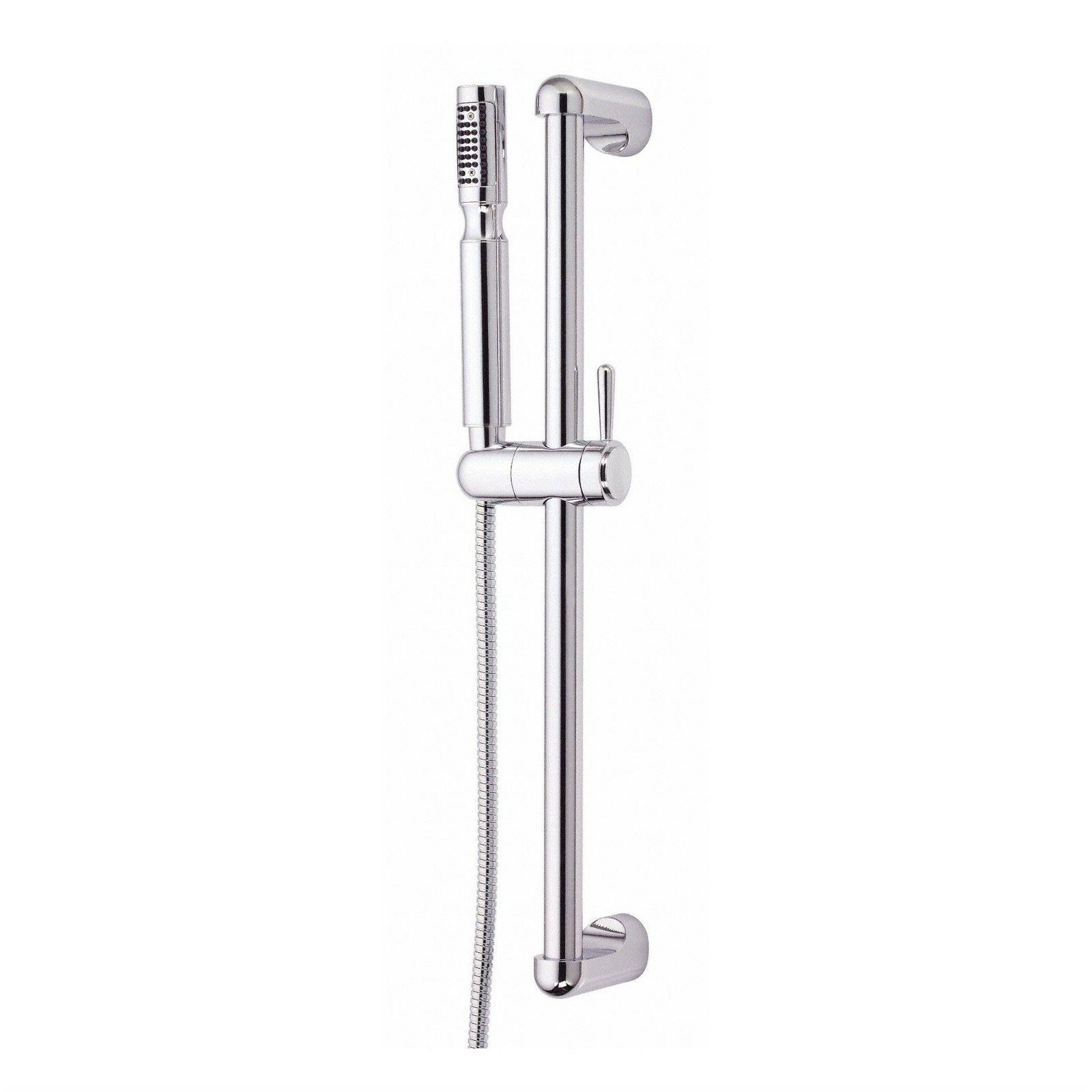 "Danze Chrome Showerstick 24"" Slide Bar Handheld Shower Head"