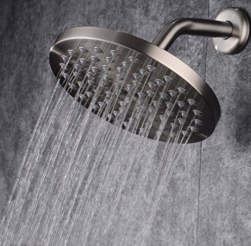 Brushed Shower Steel Back Ball