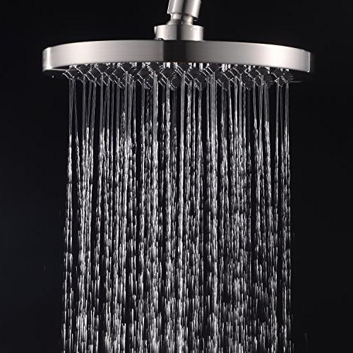 classical round rain shower head