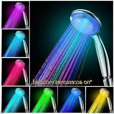 colorful home bathroom changing light
