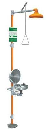 Guardian Equipment G1902BC Safety Station with Eye Wash Stai