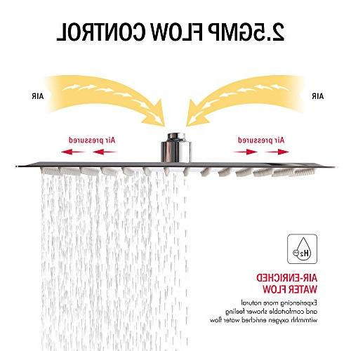 Ultra Steel 12 Inch Rain Polish Full Coverage with Nozzle Easy and