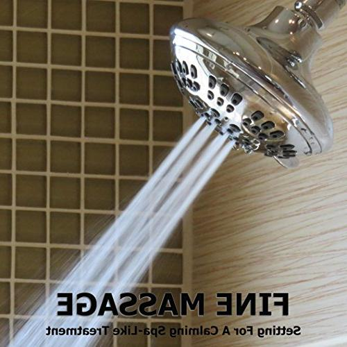 6 Function Adjustable Shower - High Flow Showers
