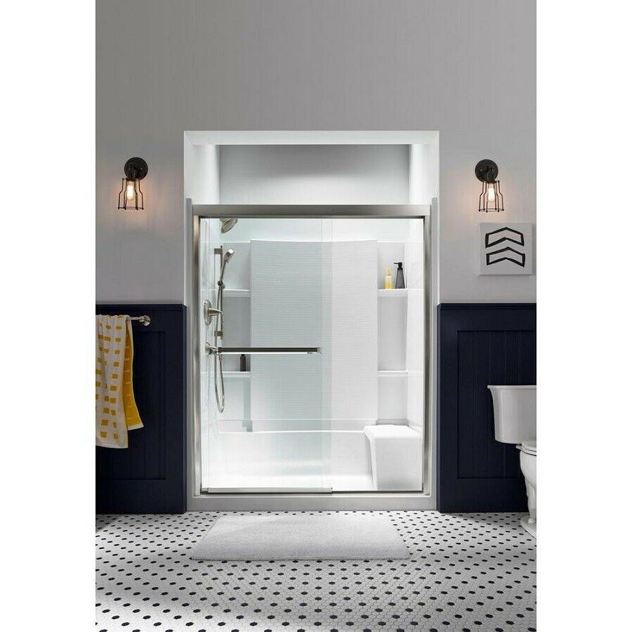 KOHLER Held Shower Bar Bathroom Vibrant Nickel