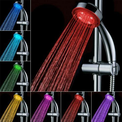 Handheld Changing LED Home Bathroom Shower Glow