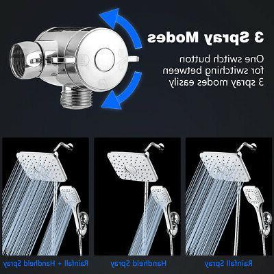 Baban 9'' 3 2.5 GPM Rainfall Shower Head Chrome