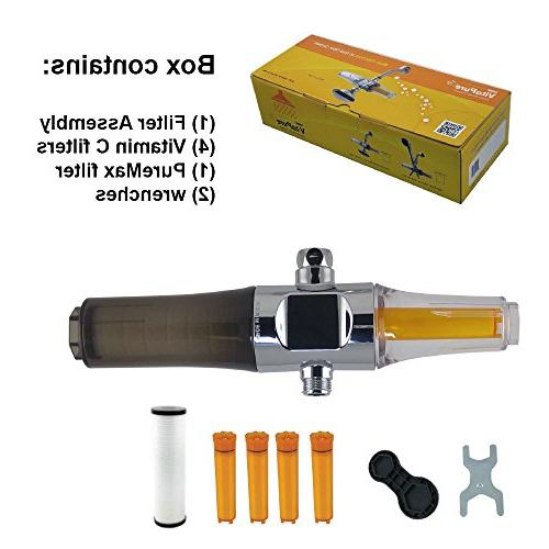 Inline Water Filter Assembly Sonaki Dual Filtration Use your Remove Up to Heavy more