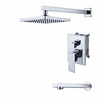 KES Shower System Pressure Balance Shower faucet Set with Tu