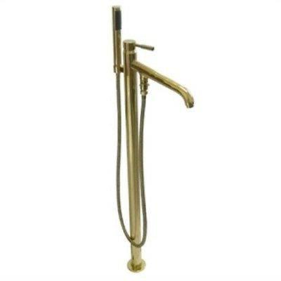 Kingston Brass Ks8132Dl Pillar Roman Tub Filler With Hand He