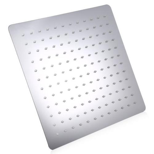 Large Inch Square Stainless Steel Head Rainfall