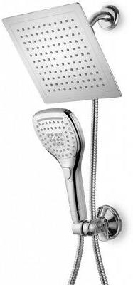 Dream Spa Luxury Hand Shower and Shower Head Combo Kit in Ch