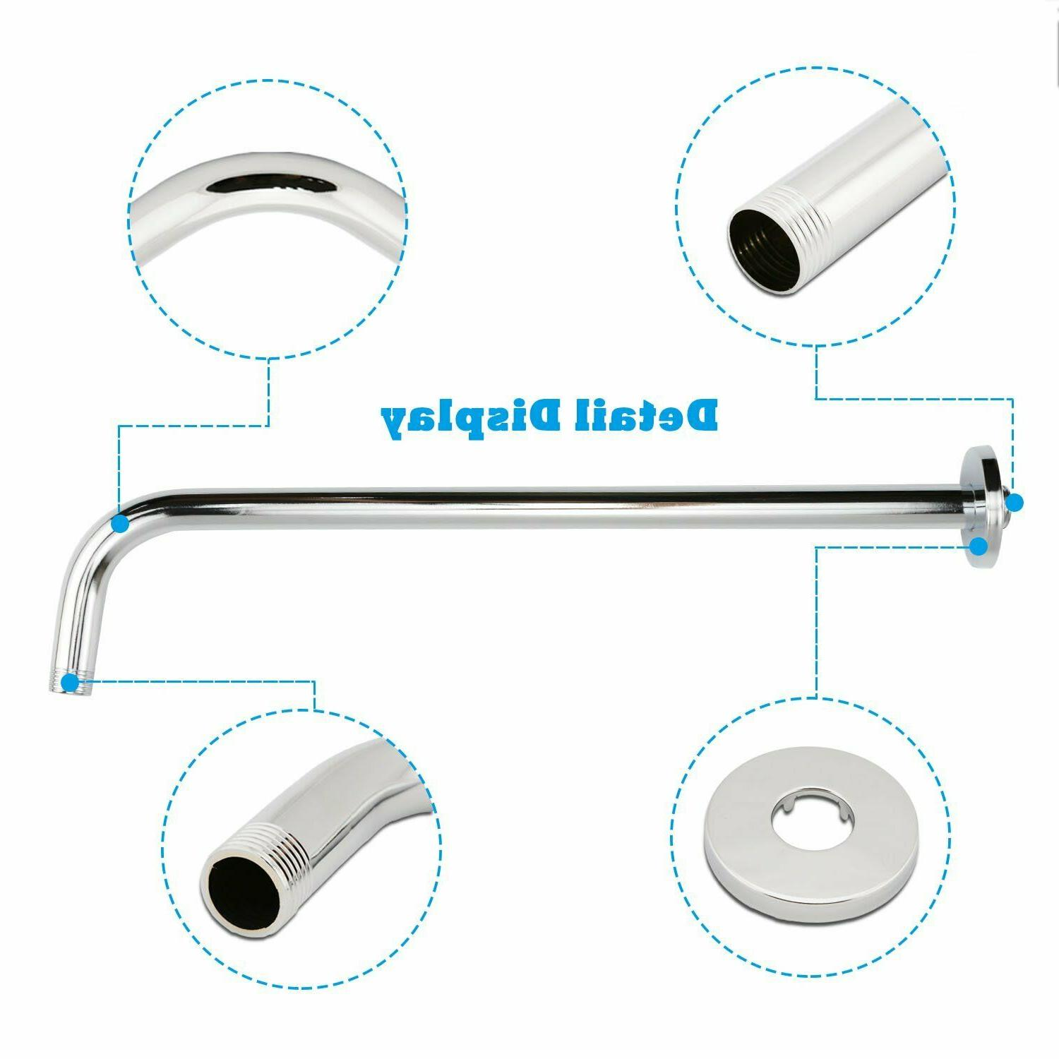 Neady Arm Stainless Steel Extension Fixed Rain