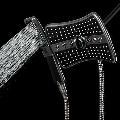 New Quad Shower Head Wand Combo In