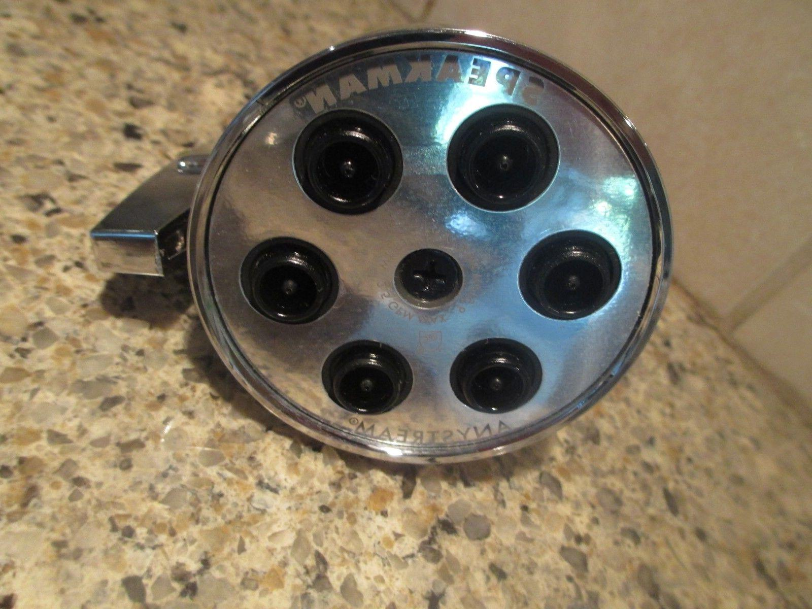 New, Speakman, GPM Showerhead