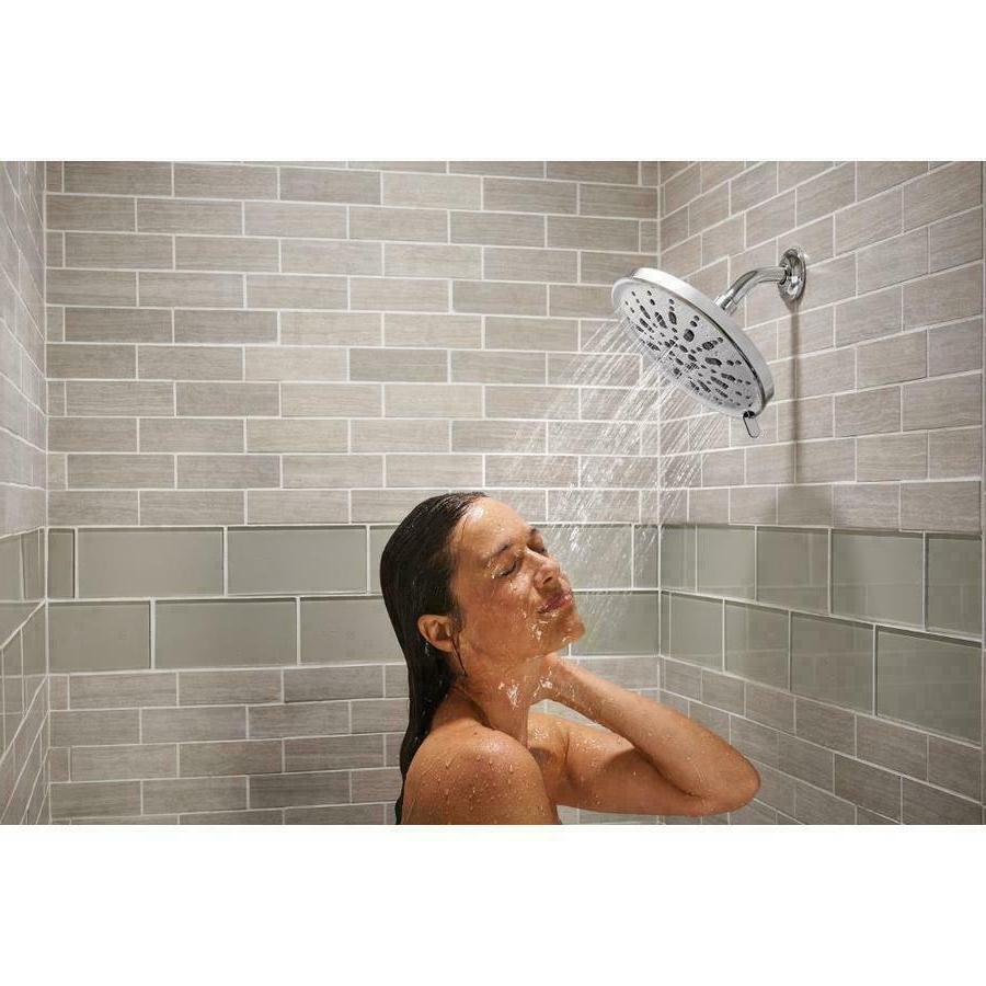 New! Moen Chrome 9 Inch Shower Head