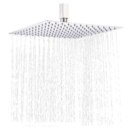 Rozin Overhead 12 Inch Rain Shower Head Bathroom Top Spray B