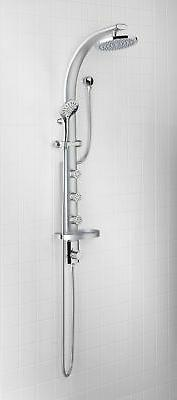 Jacuzzi PP628 Shower Panel with Shower Head, Hand Shower, Sl