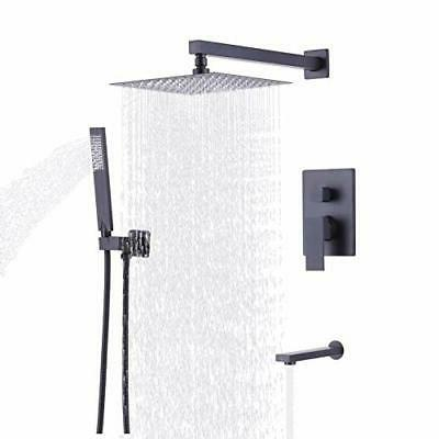 KES Balancing Shower System Trim Kit Valve with Spout