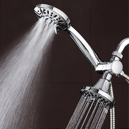 AquaDance 3-way Twin Combo Lets 6-Setting Showers Separately to Strict US Quality & Performance