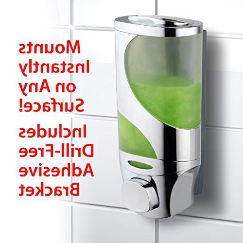 Hydroluxe Head Hydro Blast Technology High Power Water Performance Wave Soap Shampoo Design