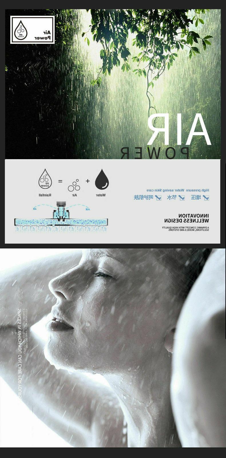 Shower Chrome Rain Ultrathin