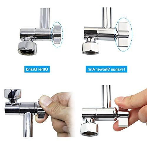 Shower Arm, Showering Components, Height Shower Arm Easy Angles. Chrome