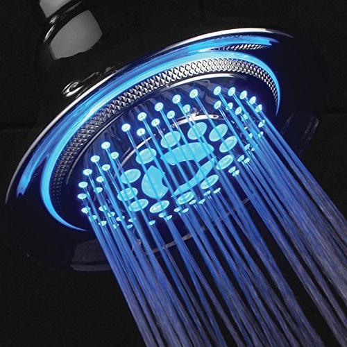 HotelSpa LED 2 1 Shower Use Hands-Free Enjoy Regular LED Shower Pampering Shower Heads LED Lighting