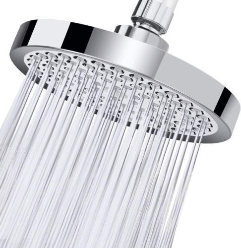 shower fixed showerheads head zqin 6 inch