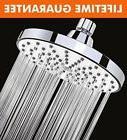 Shower Head - 6 Inch Anti-clog Anti-leak Fixed Chrome Rain S