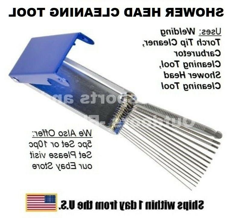 shower head cleaning tool single unit package