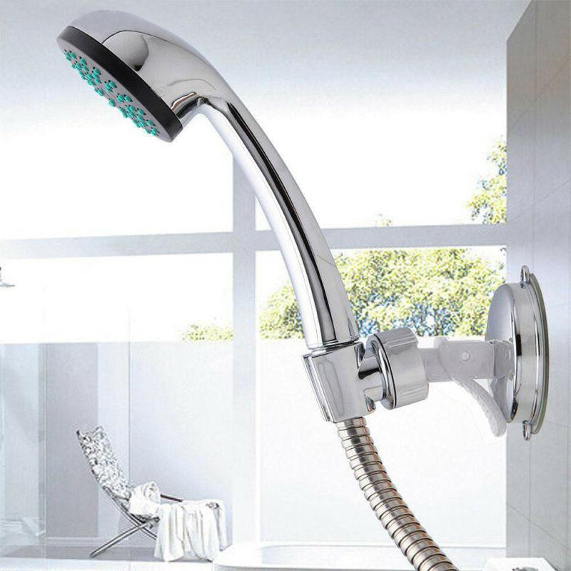 Shower Chrome Adjustable Suction Bracket