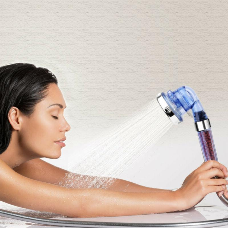 Shower 3 Ionic Filtration Shower Head US
