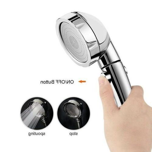 Shower Ionic Handheld High-Pressure Showerhead