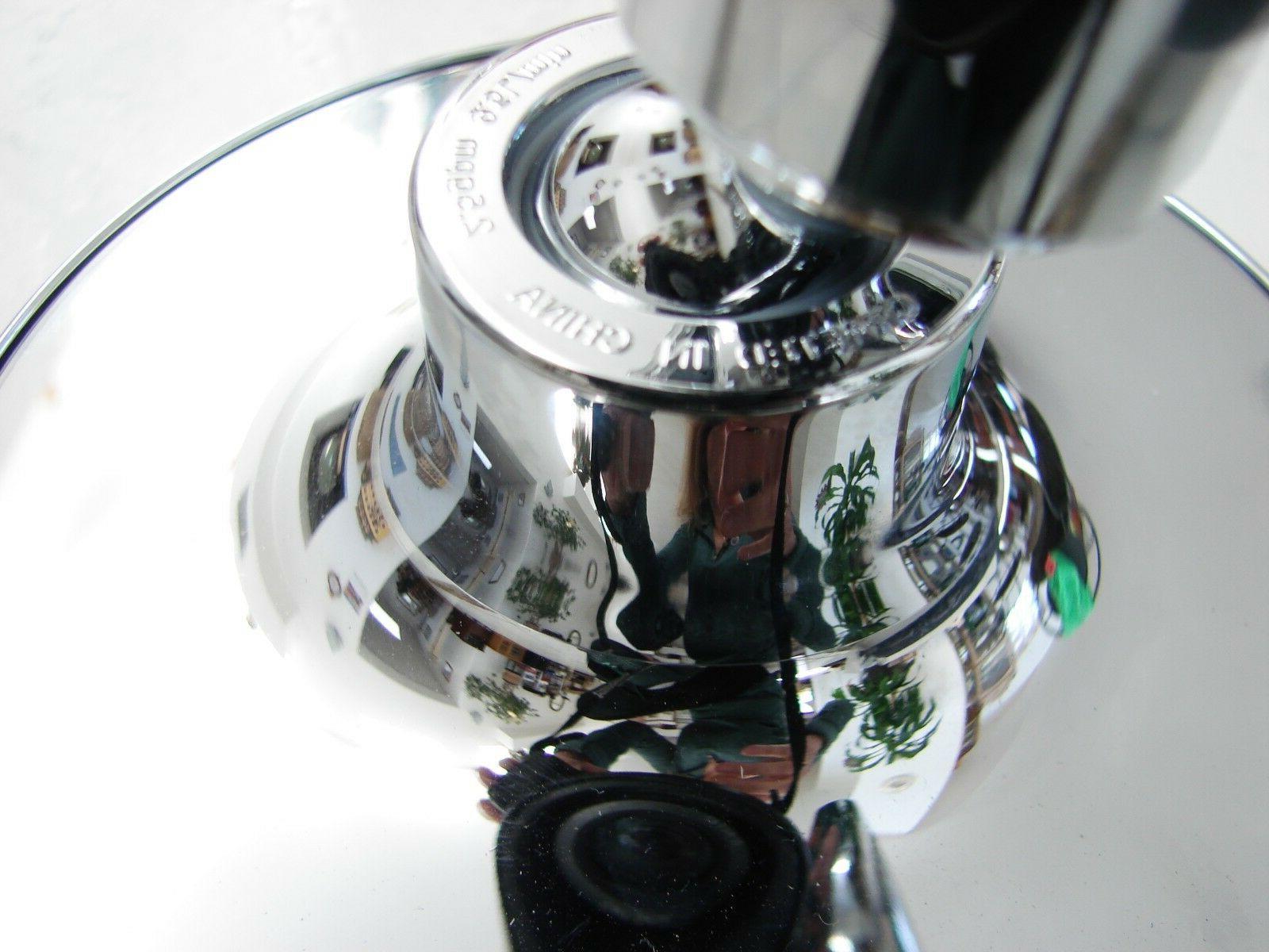 Kohler Shower Head With Attaching Bar Chrome Metal