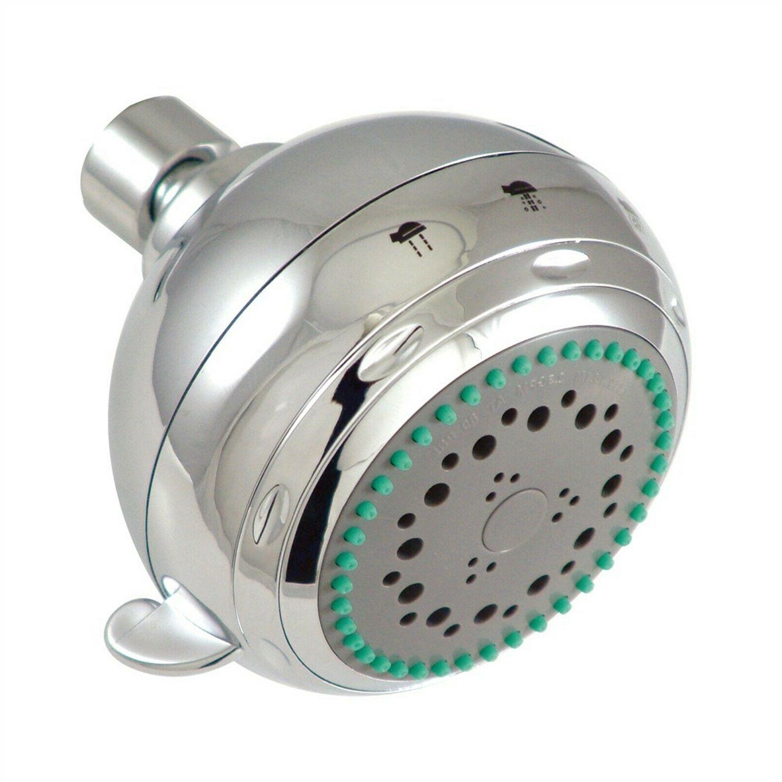 showerheads chrome adjustable fixed shower head kx1652