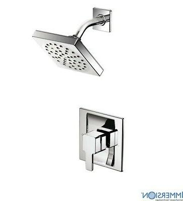 Moen Genta Chrome 1 Handle Bathroom Faucet: Moen Shower Head And Valve