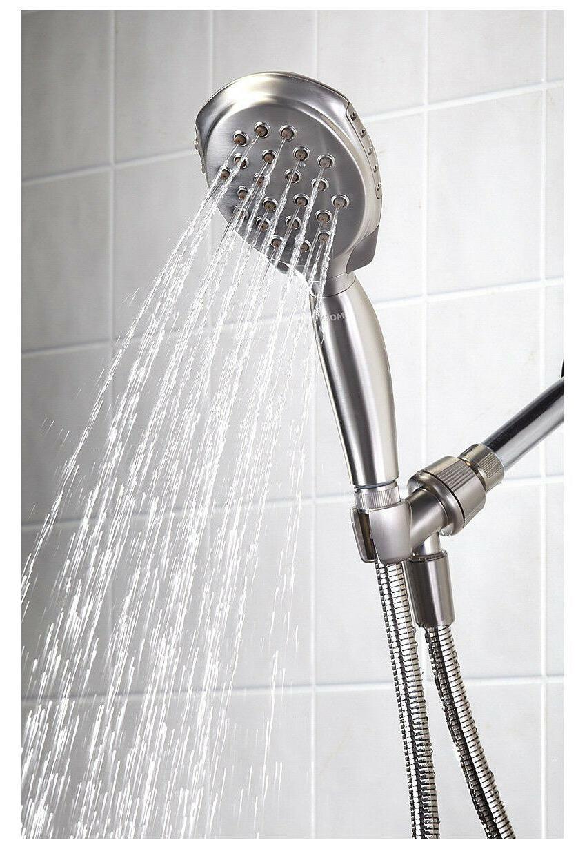 Moen 29898 Twist Handheld Shower Head with 4 Spray Settings,