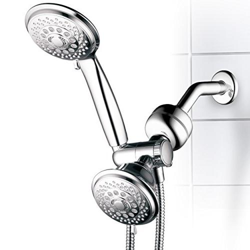 HotelSpa Ultra-Luxury Gift Set. 30-Setting Shower and 3-Stage Shower Spa Better Shower