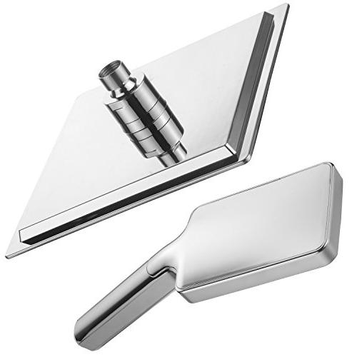 DreamSpa Ultra-Luxury Shower Head/Handheld for easy one-handed operation. Switch flow settings the same hand! Chrome