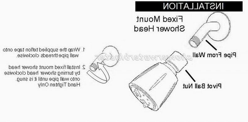 High Pressure Shower Modified Model swb-s3