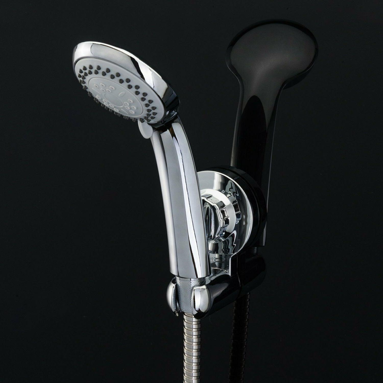 Universal Chrome Head Holder Bathroom Hand Head Valve Hose