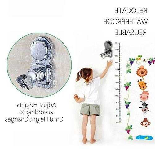 Head Stand Shower Bracket Shower Holder Shower Reusable Adhesive Stick Disc For